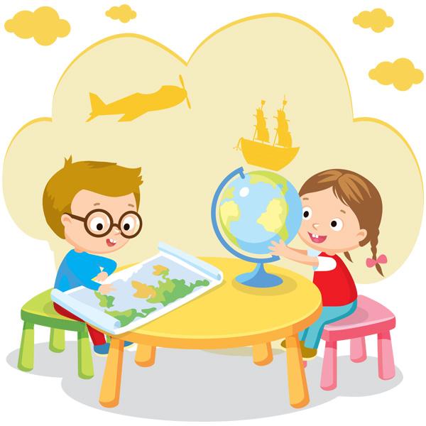 Детские занятия страноведеньем в детском саду на Карла Маркса в Мурманске